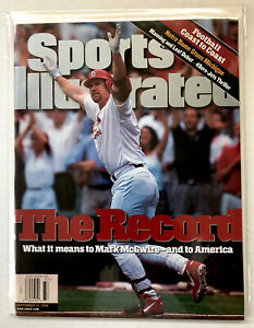 Sports Illustrated Mark McGwire Cardinals  September 14, 1998 No Label Mint