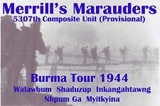 Merrill's Marauders  WW2 concert Tshirt