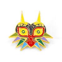 The Legend of Zelda Majora's Mask Enamel Brooches Badge Bag Clothes Lapel Pin