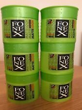 FONEX MATTE LOOK HAIR STYLING WAX 6 X 100 ML