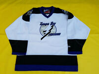 Tampa Bay Lightning jersey white Mens xl PROPLAYER black extra large pro player