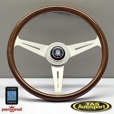 Nardi Steering Wheel ND CLASSIC WOOD Grain White Spokes 360mm 5061.36.1000
