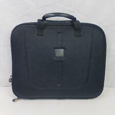 Pacific Design Laptop Case Black Nucleus PC Portfolio Semi Hard Bag Zip Handle