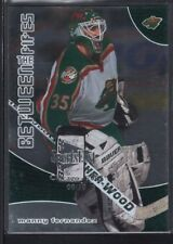 MANNY FERNANDEZ 2001/02 BAP BETWEEN THE PIPES SPORTSFEST EMBOSSED SP #08/10