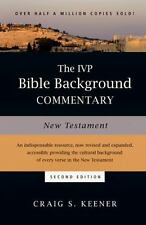 THE IVP BIBLE BACKGROUND COMMENTARY - KEENER, CRAIG S. - NEW HARDCOVER BOOK