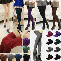 Women's Thermal Thick Warm Fleece lined Fur Winter Cotton Tight Leggings Pants