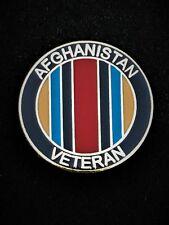 Afghanistan Veterans Colours Lapel Pin