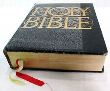 Holy Bible Large KJV Family Heritage Edition Red Letter Illustrations References