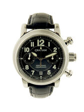 """Graham SS """"Aeroflyback"""" Chronofighter Wristwatch, complete, mint (16031)"""