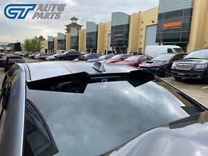 Gloss Black V2 Rear Window Visor Spoiler for 15-20 Subaru WRX STI V1 Spec R