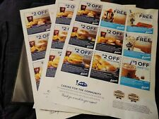 CULVER'S  Restaurant   Coupons   3X sheets ,,Expires  09-20-2020