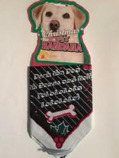 Rubies Christmas Pet Bandana For Dogs M/L (Deck The Dog) - NEW