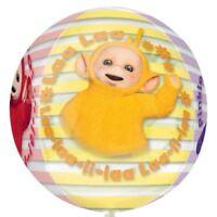 40.6cm Adorable Teletubbies Children's Party Orb Ball Globe Shape Foil Balloon