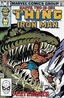 Marvel Two in One Comic 97 Featuring The and Iron-Man Bronze Age 1983