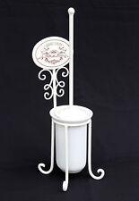 Brosse pour toilette avec récipient céramique Garniture de style maison campagne