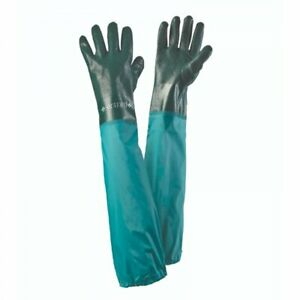 Briers Pond Drain & Tank Extra Long Waterproof Gloves Large 4520006
