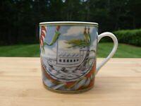 """Vintage Hermes Porcelain Demitasse """"Patch Work"""" Collector Edition"""