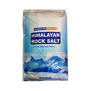 ORGANIC PINK HIMALAYAN ROCK SALT | 25KG | COARSE | Natural Food Grade Table Salt