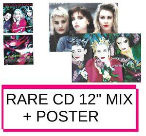 "BANANARAMA ♦ ONLY YOUR LOVE + POSTER !  (ALL 12"" REMIXES + RARE) ▬ LTD CD ♫♫"