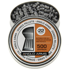 200 x .22 DOMED AIR GUN RIFLE PELLETS SHOOTING HUNTING TARGETS FROM ANGLO ARMS