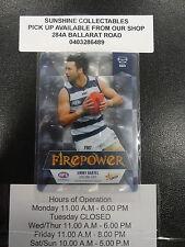 2013 AFL CHAMPIONS FIREPOWER MIRROR FM7 JIMMY BARTEL GEELONG CATS