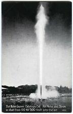 1910s CALISTOGA-NAPA VALLEY CALIFORNIA,HOT WATER GEYSER~ORIGINAL UNUSED POSTCARD