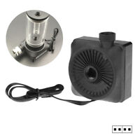 DV_ 12V Silent Computer Water Cooling Cooler Mini Water Pump PC Replacement Part