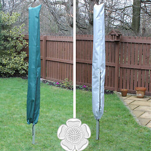 JVL Showerproof Universal Fit Rotary Airer Cover Protector in Green or Silver