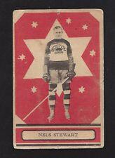 1933 OPC V304A #6 Nels Stewart RC HOF, Vintage Boston Bruins NHL Hockey 1933-34