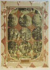 FIESTAS DE SAN SEBASTIAN / A. SALABARRIAS  SERIGRAPH POSTER / 1993 / PUERTO RICO