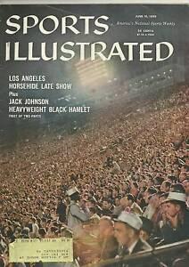 SPORTS ILLUSTRATED  JUNE 15 1959 FANS IN DOGER STADIUM