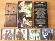 SUPER THE WHO 4 CD BOXSET +72PG ANTHOLOGY T