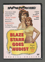 Blaze Starr The Original (DVD) Something Weird Video, Doris Wishman, BRAND NEW!