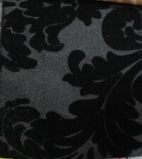 "TAFFETA DAMASK VELVET FLOCKING FABRIC 58""/60"" WIDE BY THE YARD HOME DECOR"