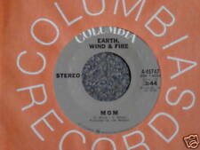 EARTH,WIND & FIRE 45 Mom b/w Power on Columbia MINT