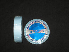 "Walker 1/2""x 3 YDS Tape Roll (Blue Liner)Lace Front Support  ~Lace Wigs &Toupee"