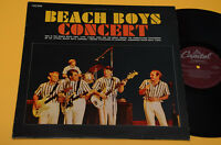 BEACH BOYS LP CONCERT ITALY PRESS TOP EX++