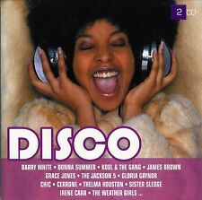 "COFFRET 2 CD NEUF ""TWOGETHER - DISCO"" Donna SUMMER, Cerrone, Odyssey, Tavares"
