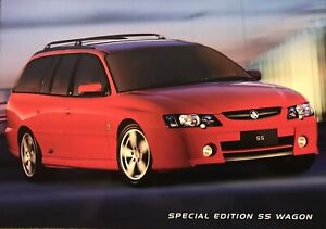 Holden Commodore VY SS Wagon  Limited Edition V8 Brochure