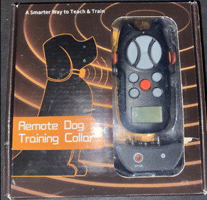 Collar Dog Shock Training Rechargeable Remote 3 Modes Waterproof Flittor -M/L