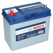 Bosch S4 022 12V 45Ah 330 A EN Autobatterie Starterbatterie ersetzt 50Ah 55Ah