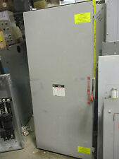 Square D DTU426, 600 Amp 240 Volt 4 Pole Manual Transfer Switch- ATS233