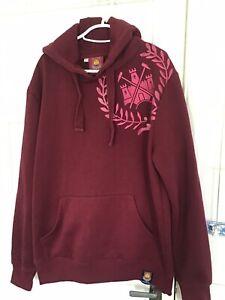 Vintage West Ham United official Hoodie Size L