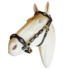 Spanish Portuguese Baroque Leather Horse Bridle by Marjoman, Horse Size