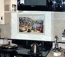 Mural Ceramic Tuscany Landscape Backsplash Tile #113