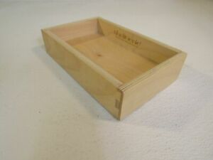 ShelfGenie Slideout Cabinet Shelf Box Only 10-1/2in x 6-1/2in Birch Plywood