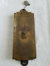 Antique Brass Milk Scale Chatillon's 30 lbs Grocery Kitchen Scale