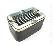alter Celluloid Aschenbecher kippbar mit Metall Deckel für´s Auto D.R.P. um 1930