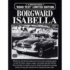 Borgward Isabella Edición Limitada Libro Papel Brooklands prueba de carretera