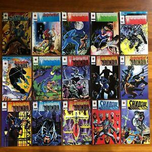 SHADOWMAN 0 TO 28  SET  -  1992  SERIES - VALIANT COMICS